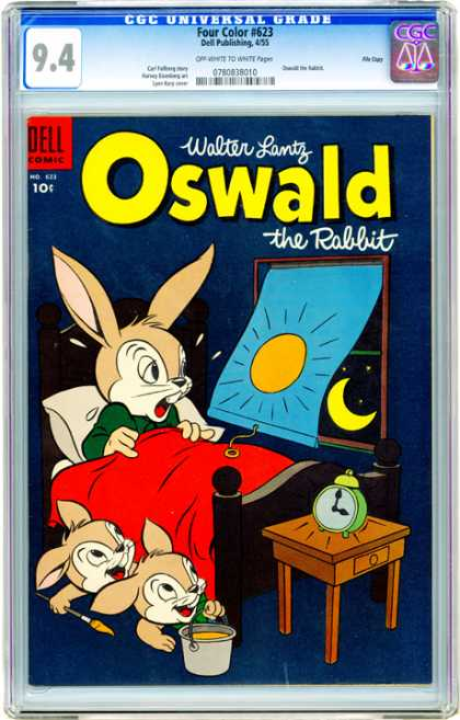 CGC Graded Comics - Four Color #623 (CGC) - Oswald - The Rabbit - Walter Lantz - Comedy - Dell