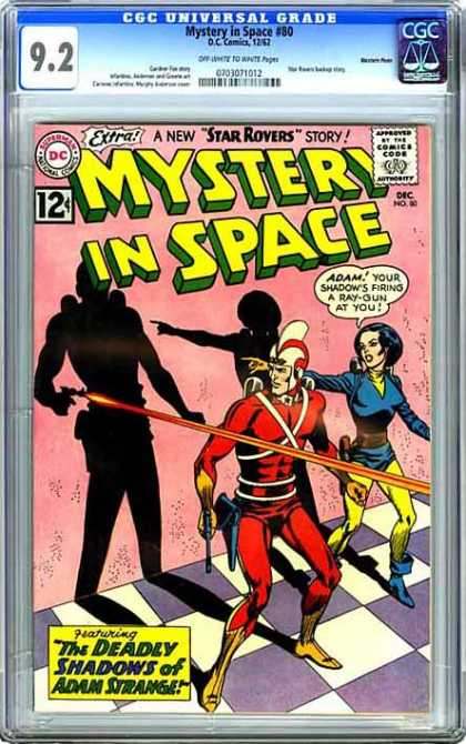 CGC Graded Comics - Mystery in Space #80 (CGC)