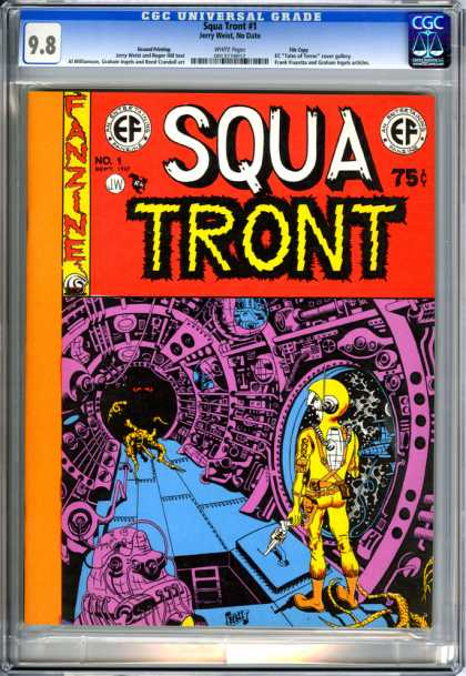 CGC Graded Comics - Squa Tront #1 (CGC)