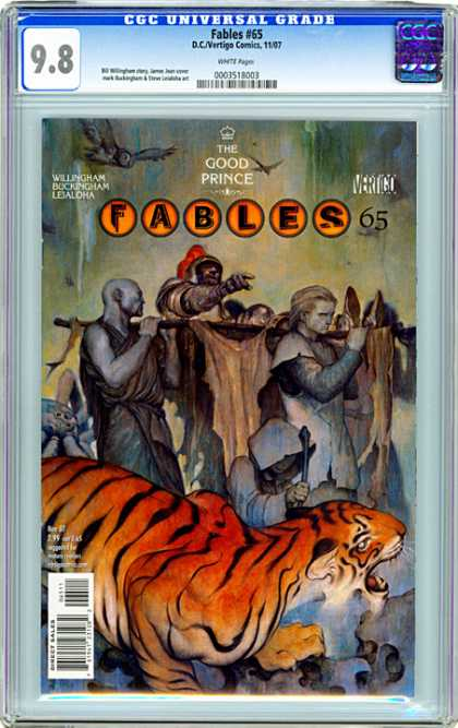 CGC Graded Comics - Fables #65 (CGC) - Willingham - Buckingham - Lejaloha - The Good Prince - Vertigo
