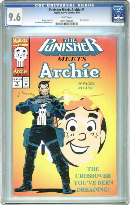 CGC Graded Comics - Punisher Meets Archie #1 (CGC)