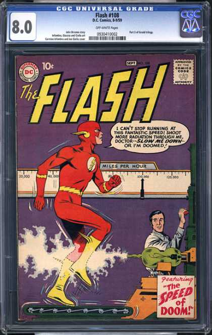 CGC Graded Comics - Flash #108 (CGC)