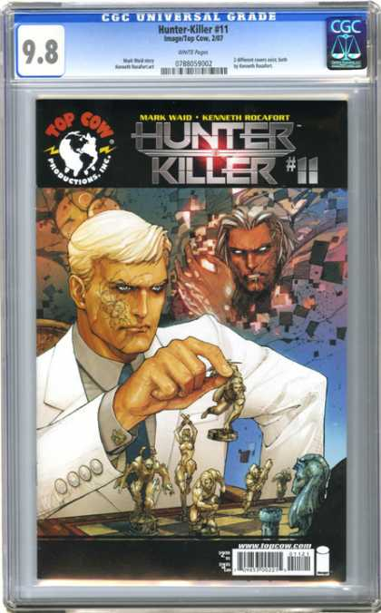 CGC Graded Comics - Hunter-Killer #11 (CGC) - Mark Ward - Hunter - Killer - Business Suit - Savage