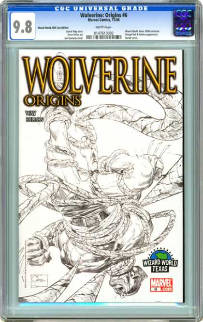 CGC Graded Comics - Wolverine: Origins #6 (CGC) - Wolverine - Wizard World Texas - Superhero - Mutant - Marvel