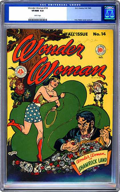 CGC Graded Comics - Wonder Woman #14 (CGC)