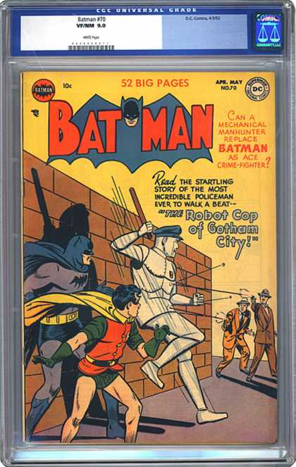 CGC Graded Comics - Batman #70 (CGC)