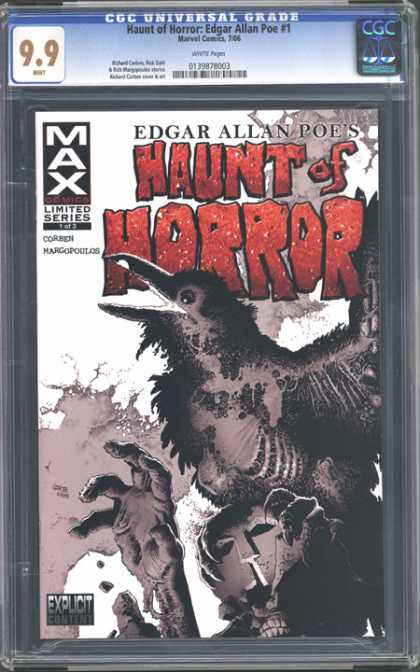 CGC Graded Comics - Haunt of Horror: Edgar Allen Poe #1 (CGC)