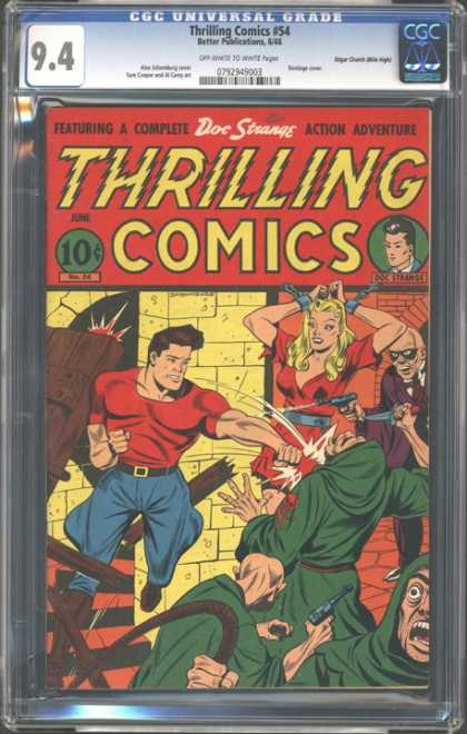 CGC Graded Comics - Thrilling Comics #54 (CGC)