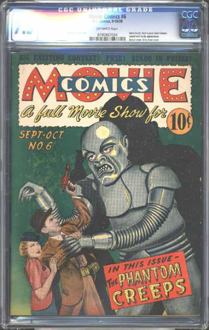CGC Graded Comics - Movie Comics #6 (CGC)