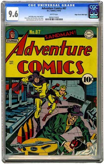 CGC Graded Comics - Adventure Comics #87 (CGC)