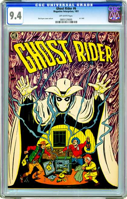 CGC Graded Comics - Ghost Rider #6 (CGC)