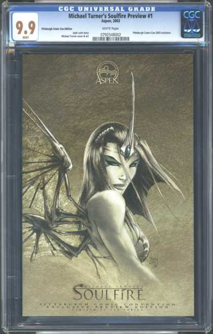 CGC Graded Comics - Michael Turner's Soulfire Preview #1 (CGC)