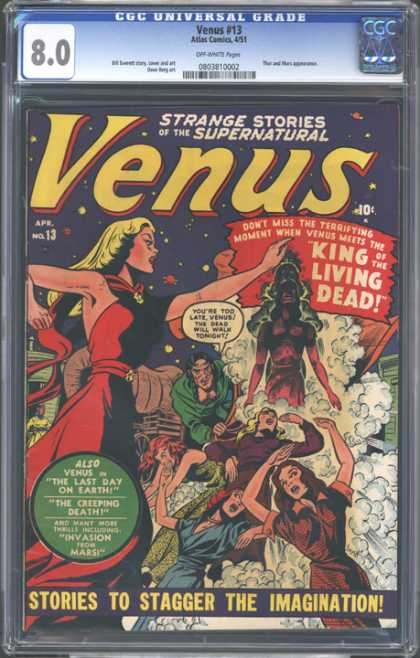 CGC Graded Comics - Venus #13 (CGC)