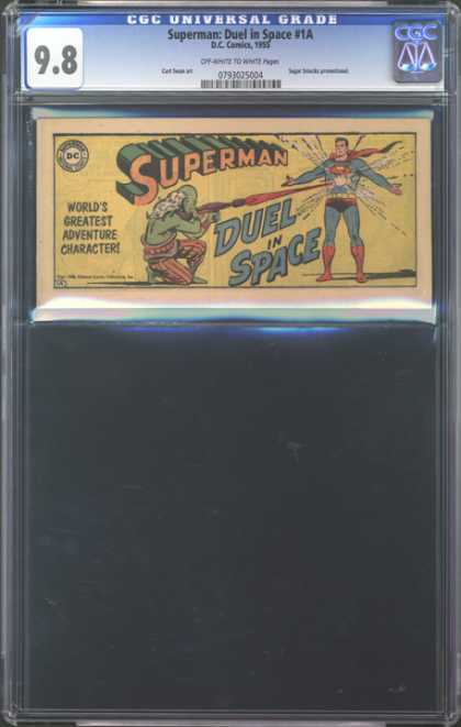 CGC Graded Comics - Superman: Duel in Space #1A (CGC) - Duel In Space - Gunfire - Worlds Greatest - 98 - Superman