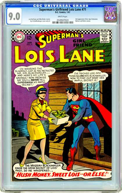 CGC Graded Comics - Superman's Girlfriend Lois Lane #71 (CGC)