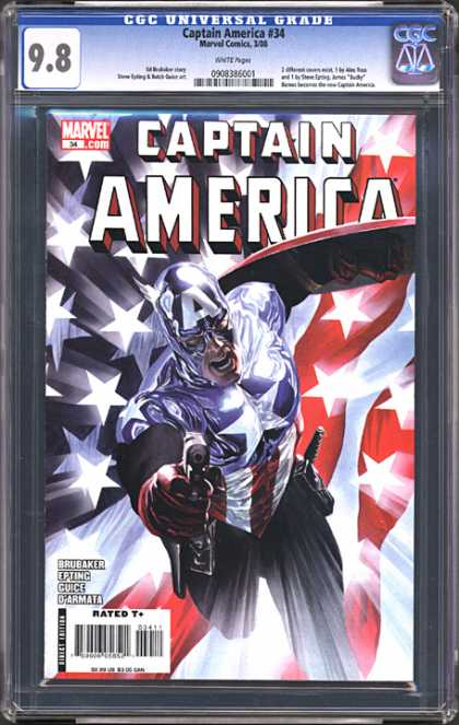 CGC Graded Comics - Captain America #34 (CGC)