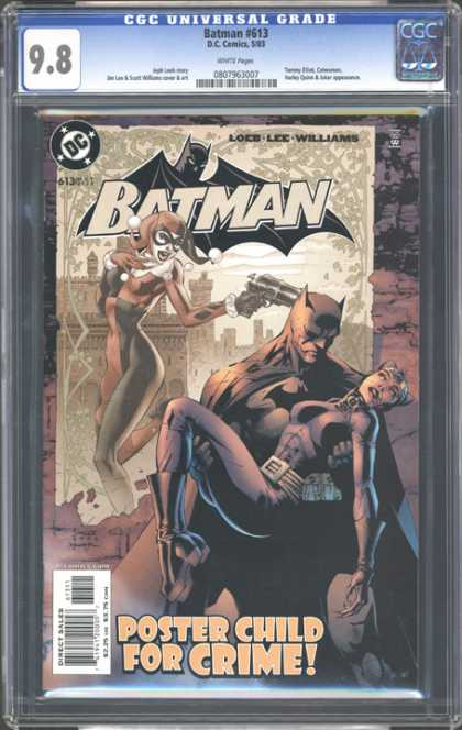 CGC Graded Comics - Batman #613 (CGC) - Batman And Catwoman - Superhero - Sad Batman - Comicbook Batman - Suspense
