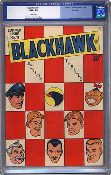 CGC Graded Comics - Blackhawk #11 (CGC)