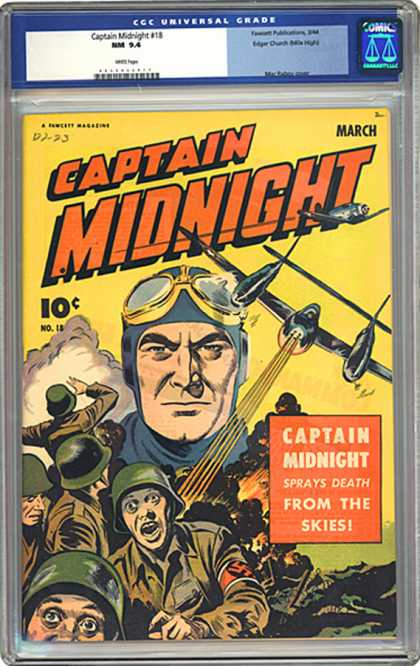 CGC Graded Comics - Captain Midnight #18 (CGC)