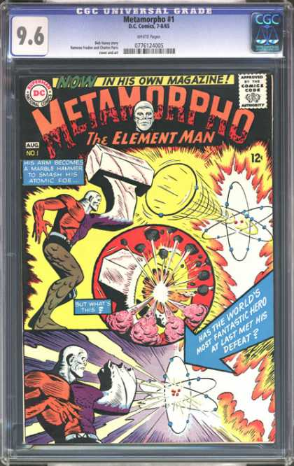 CGC Graded Comics - Metamorpho #1 (CGC)