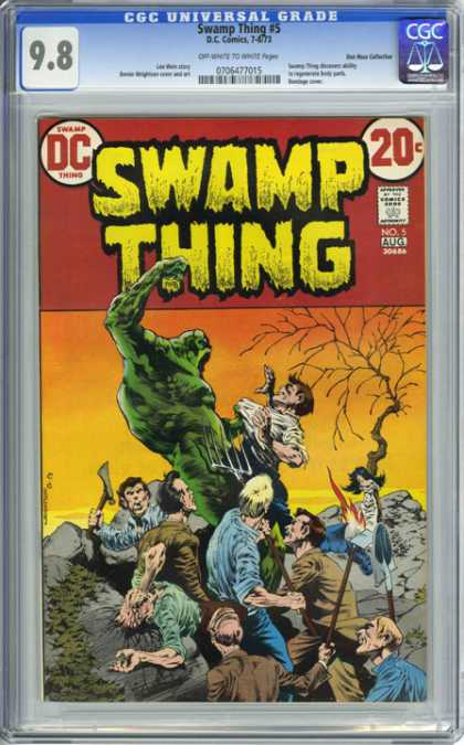 CGC Graded Comics - Swamp Thing #5 (CGC)
