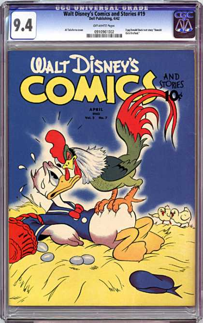 CGC Graded Comics - Walt Disney's Comics and Stories #19 (CGC)