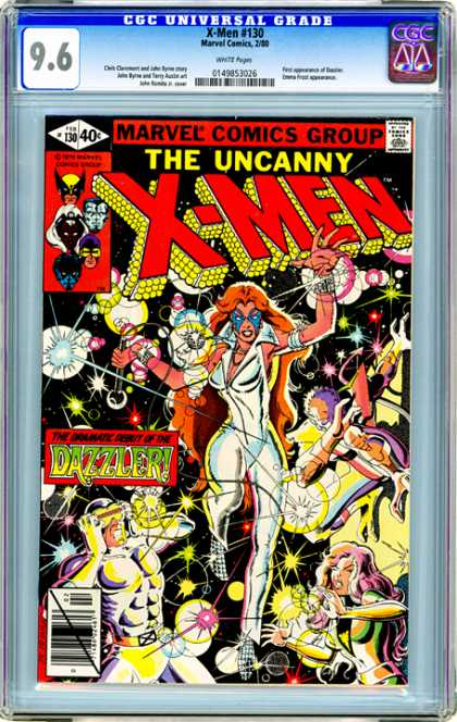 CGC Graded Comics - X-Men #130 (CGC) - The Uncanny X-men - Dazzler - Jean Grey - Nightcrawler - Cyclops