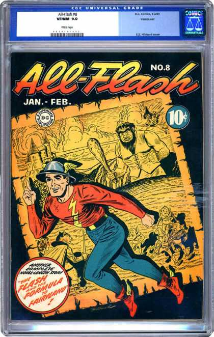 CGC Graded Comics - All-Flash #8 (CGC)