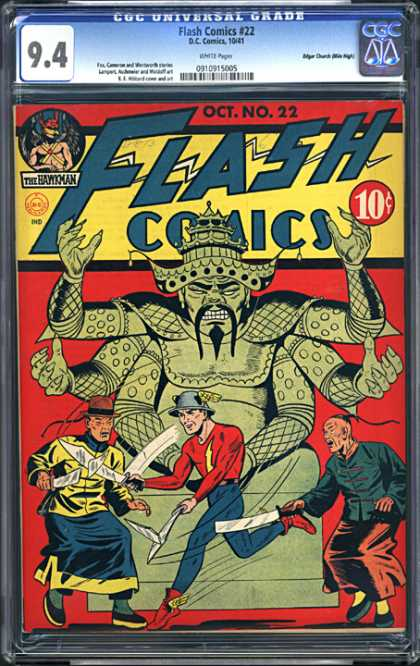 CGC Graded Comics - Flash Comics #22 (CGC)
