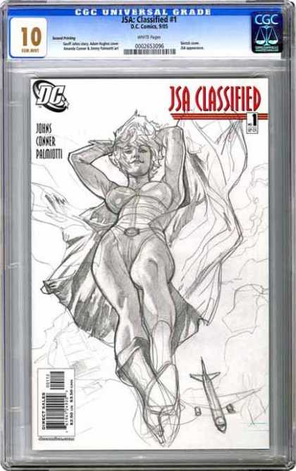 CGC Graded Comics - JSA: Classified #1 (CGC)