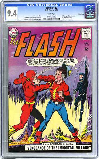 CGC Graded Comics - Flash #137 (CGC)