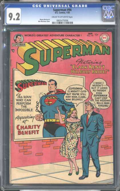 CGC Graded Comics - Superman #94 (CGC)