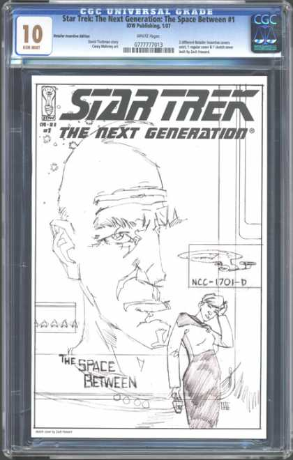 CGC Graded Comics - Star Trek: The Next Generation: The Space Between #1 (CGC)