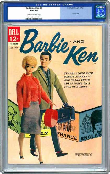 CGC Graded Comics - Barbie and Ken #2 (CGC) - Historic - Amazing - Collector - Original - Immaculate