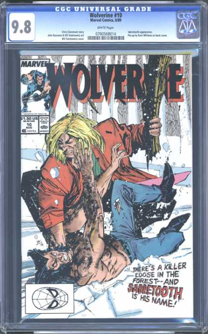 CGC Graded Comics - Wolverine #10 (CGC) - Wolverine 10 - Sabretooth - Spiderman - Marvel - Forest