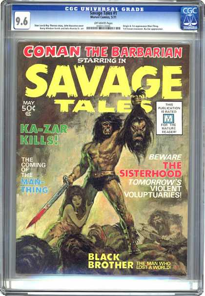 CGC Graded Comics - Savage Tales #1 (CGC)