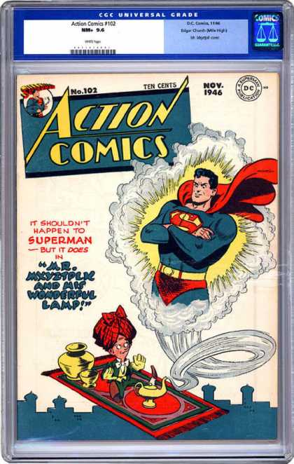 CGC Graded Comics - Action Comics #102 (CGC)