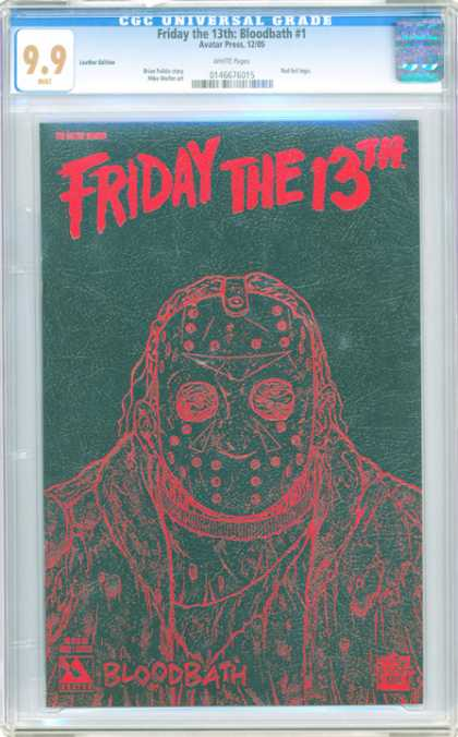 CGC Graded Comics - Friday the 13th: Bloodbath #1 (CGC)