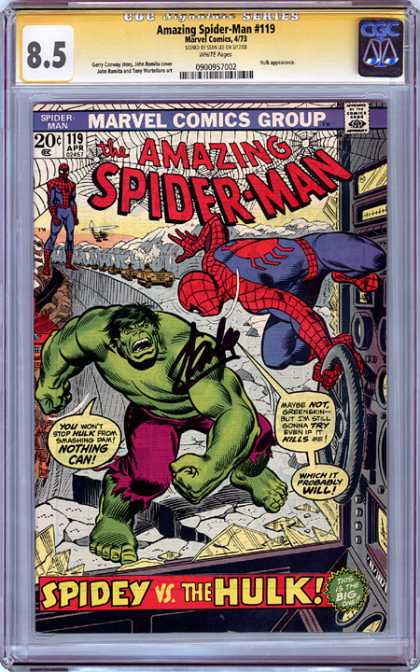 CGC Graded Comics - Amazing Spider-Man #119 (CGC)