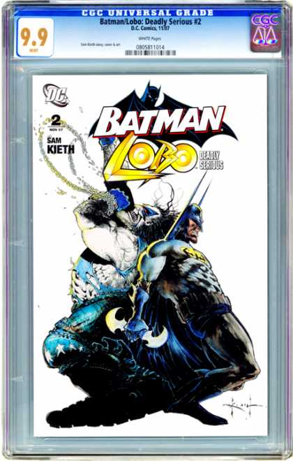 CGC Graded Comics - Batman/Lobo: Deadly Serious #2 (CGC)