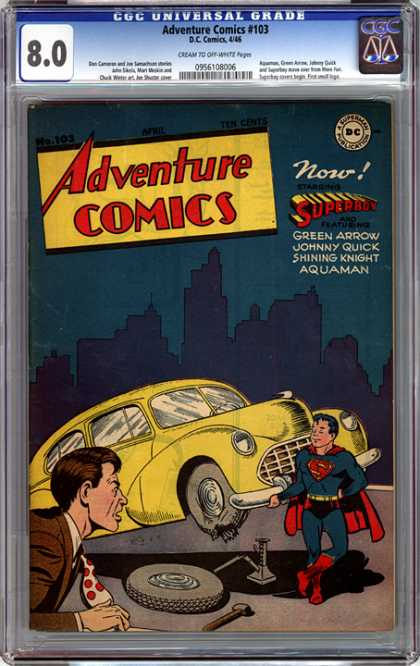 CGC Graded Comics - Adventure Comics #103 (CGC)