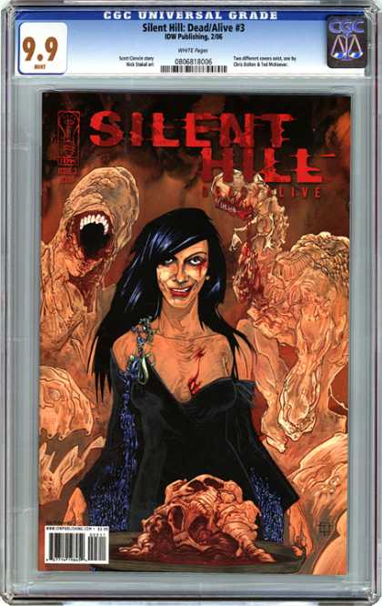CGC Graded Comics - Silent Hill: Dead/Alive #3 (CGC)