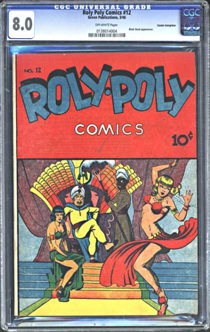 CGC Graded Comics - Roly Poly Comics #12 (CGC)