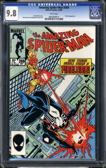 CGC Graded Comics - Amazing Spider-Man #269 (CGC)