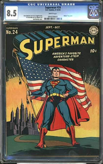 CGC Graded Comics - Superman #24 (CGC)