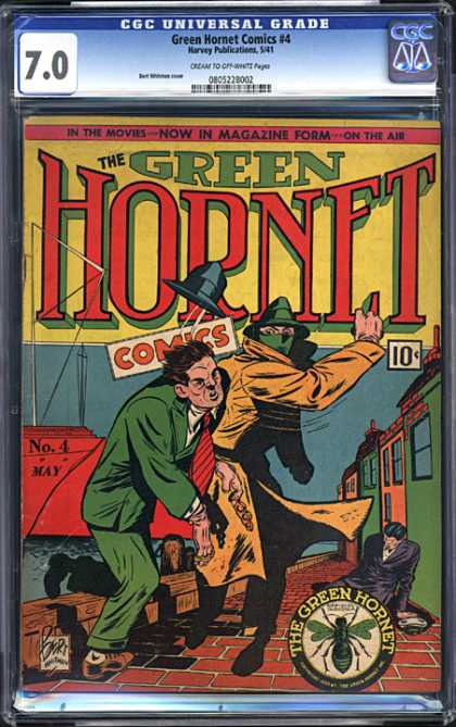 CGC Graded Comics - Green Hornet Comics #4 (CGC)