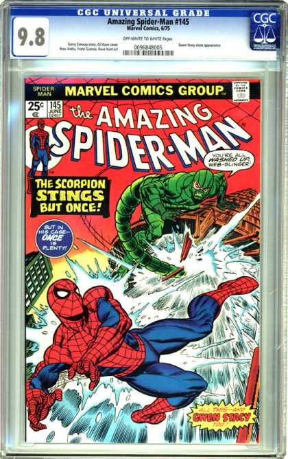 CGC Graded Comics - Amazing Spider-Man #145 (CGC)