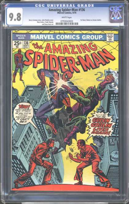 CGC Graded Comics - Amazing Spider-Man #136 (CGC)