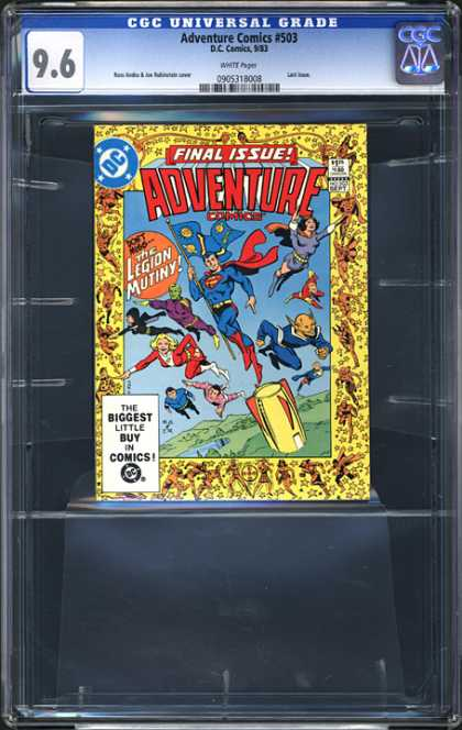 CGC Graded Comics - Adventure Comics #503 (CGC)