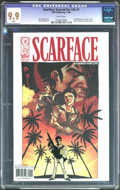 CGC Graded Comics - Scarface: Scarred for Life #1 (CGC)